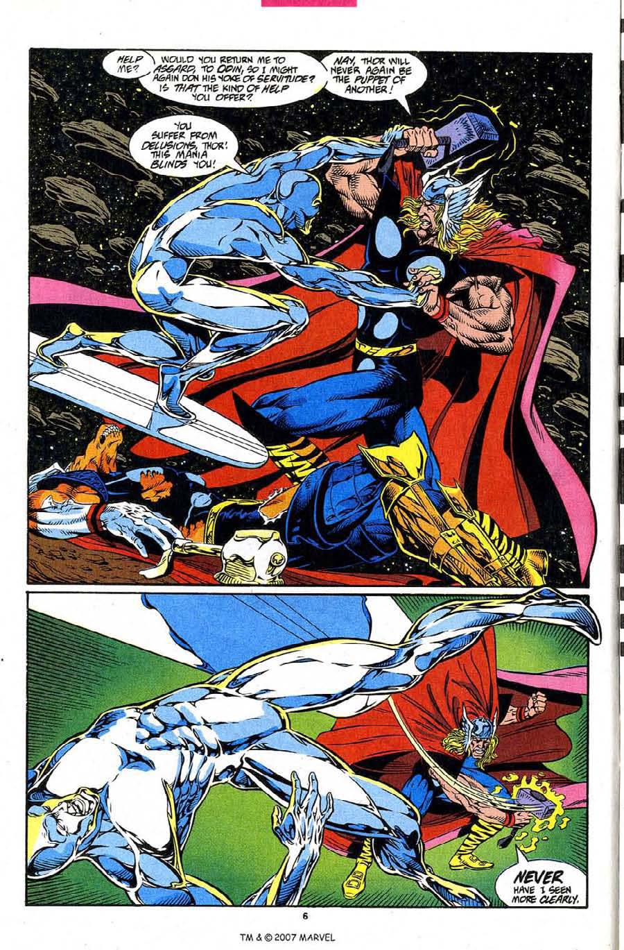 Read online Silver Surfer (1987) comic -  Issue #86 - 8