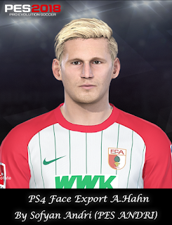 PES 2018 Faces André Hahn By Sofyan Andri