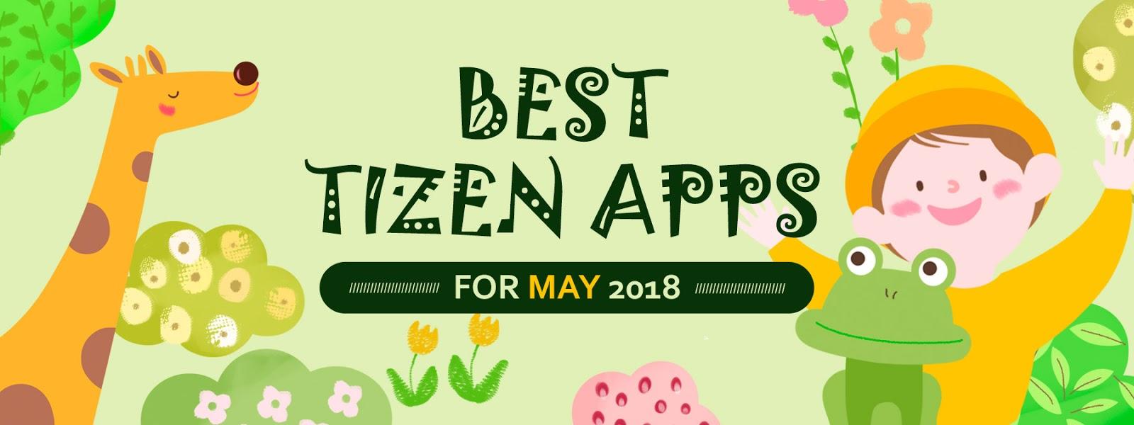 20 Aplikasi Terlaris di Tizen Store bulan Mei 2018