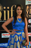 Madhu Shalini Looks Super Cute Slim trim Blue Choli Ghagra IIFA Utsavam Awards 11.JPG