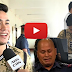 WATCH: PNP chief Bato's son seeks to follow dad's footsteps