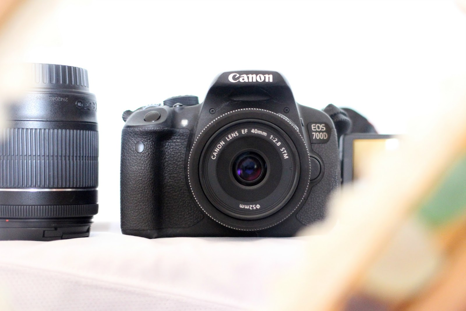 DSLR Camera Essential For Blogging