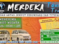 Jadwal Merdeka Travel Jogja - Wonosobo PP