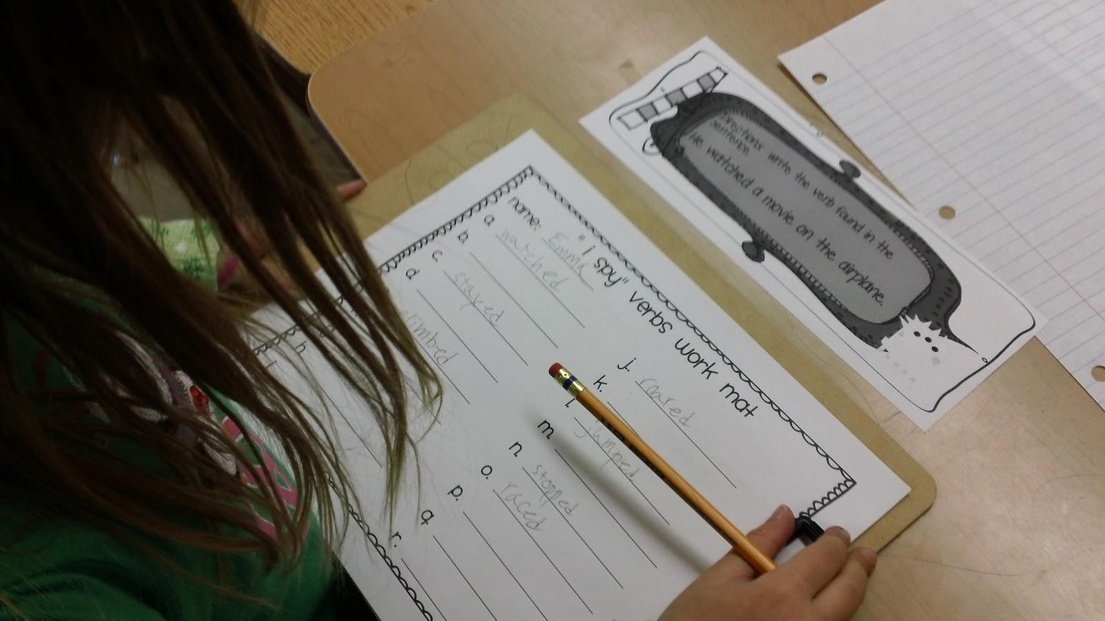 Vivid Verbs Worksheet 6th Grade