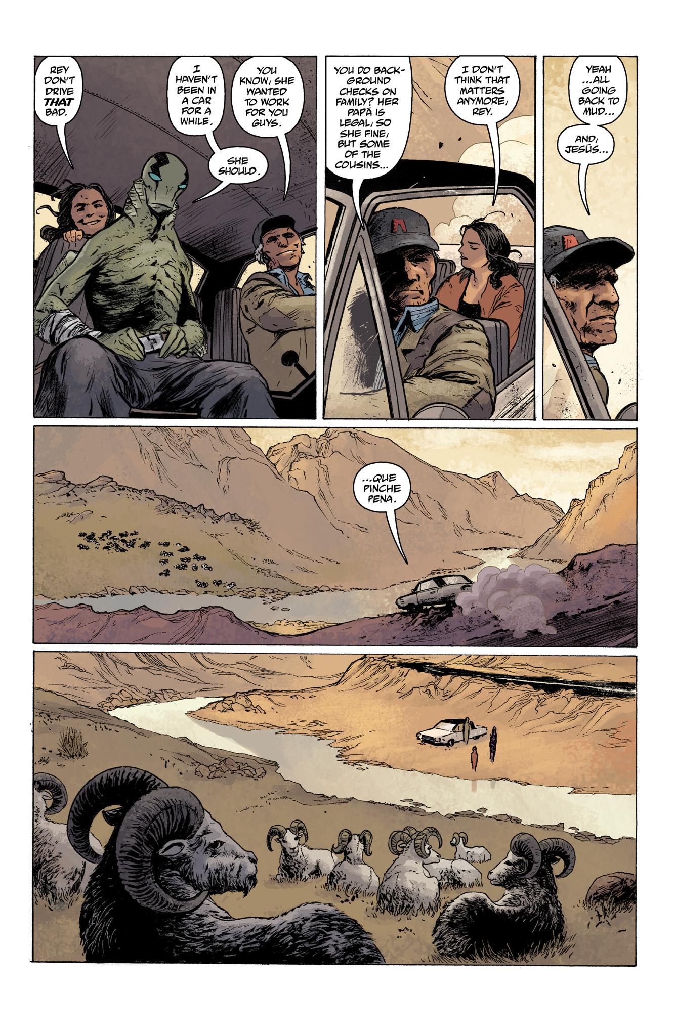 Read online Abe Sapien comic -  Issue #7 - 9