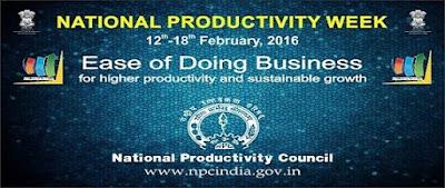 National Productivity Week