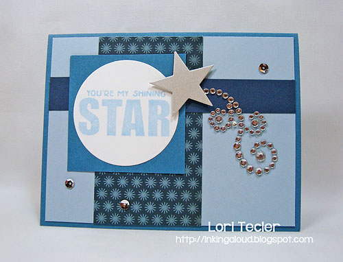 Shining Star-designed by Lori Tecler/Inking Aloud-stamps and dies from Clear and Simple Stamps