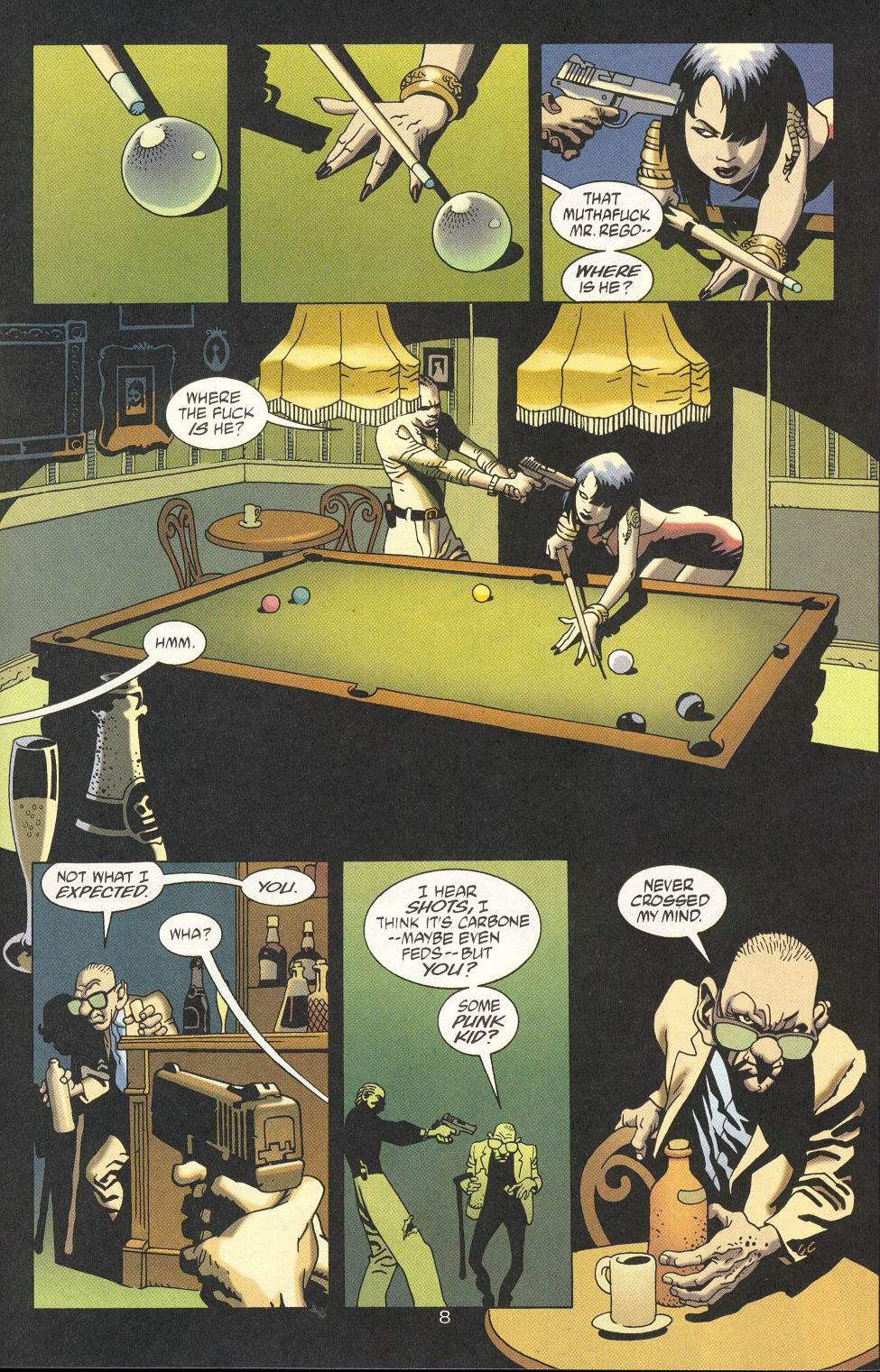 Read online 100 Bullets comic -  Issue #18 - 10