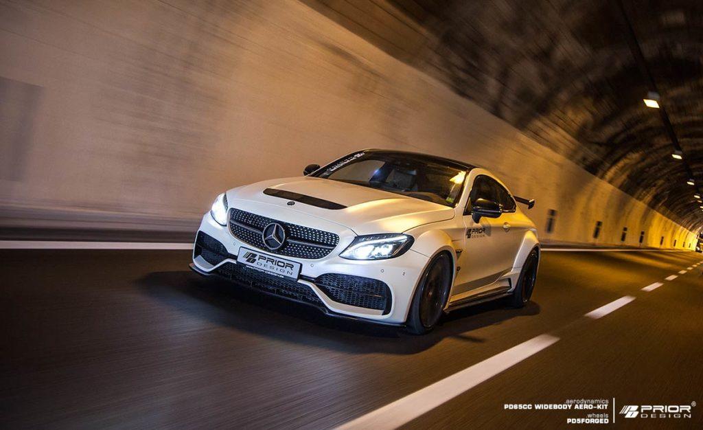 Prior Design Takes Mercedes Amg C63 Coupe To The Next Aero