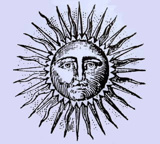 soleil gravure