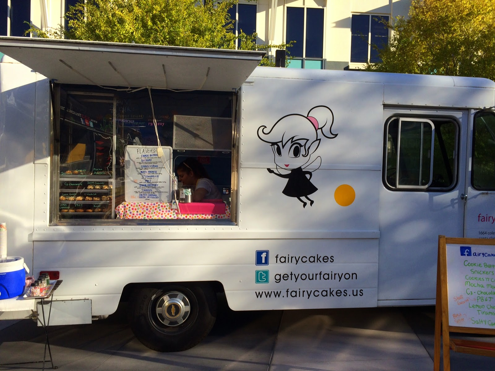 Food Truck Review Fairy Cakes