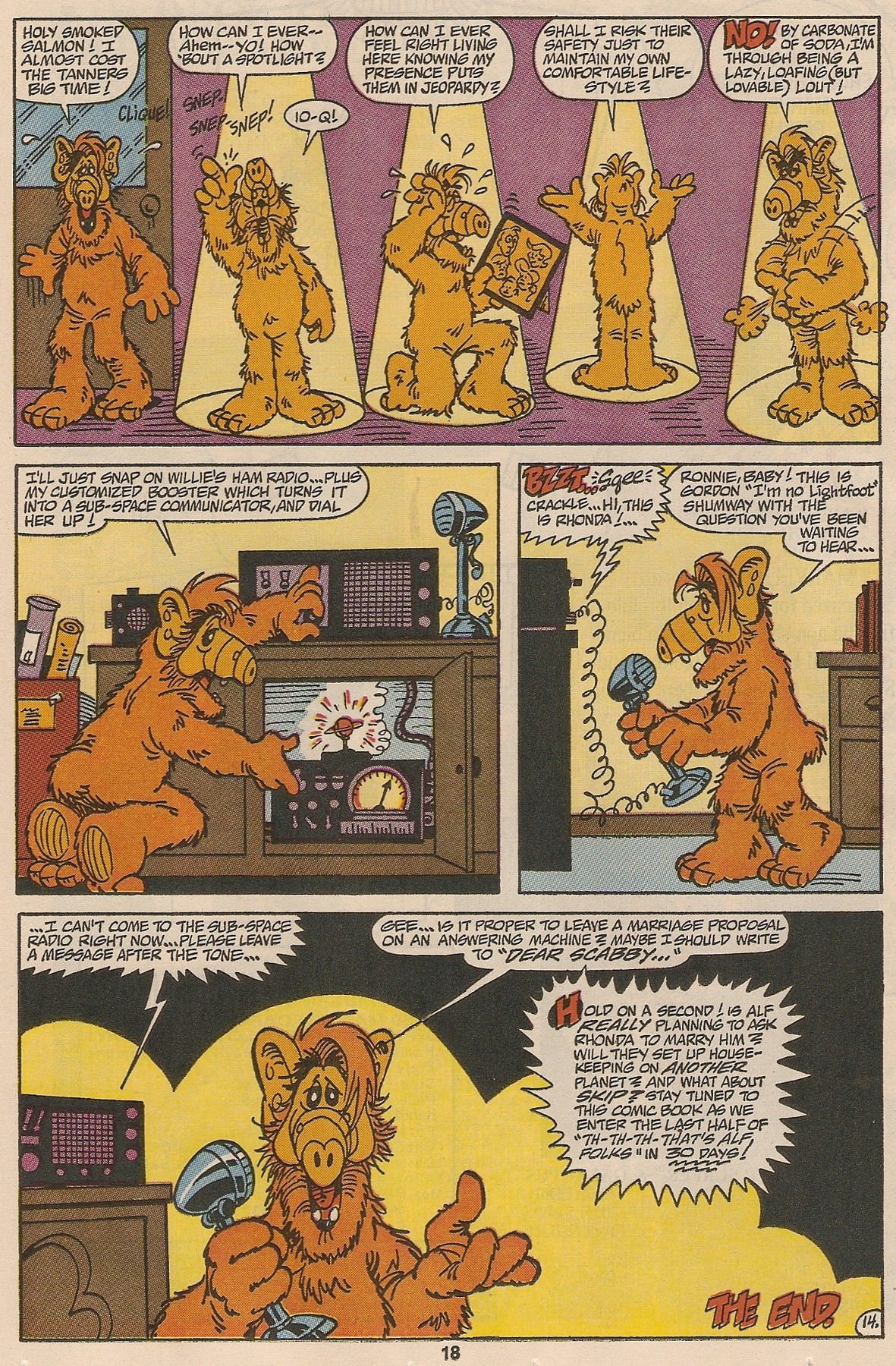 Read online ALF comic -  Issue #48 - 20