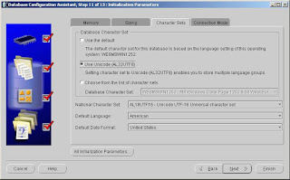 Set the Urdu Supported Character Set in Oracle Database