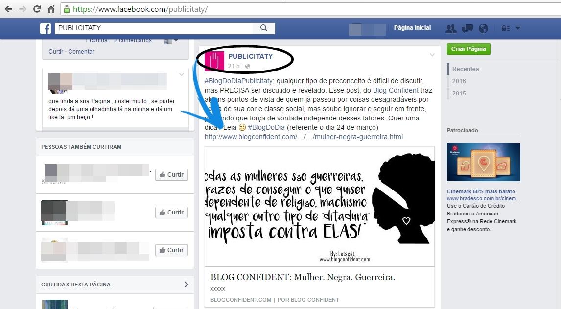 CLIPPING - Blog Confident por Letícia Caetano
