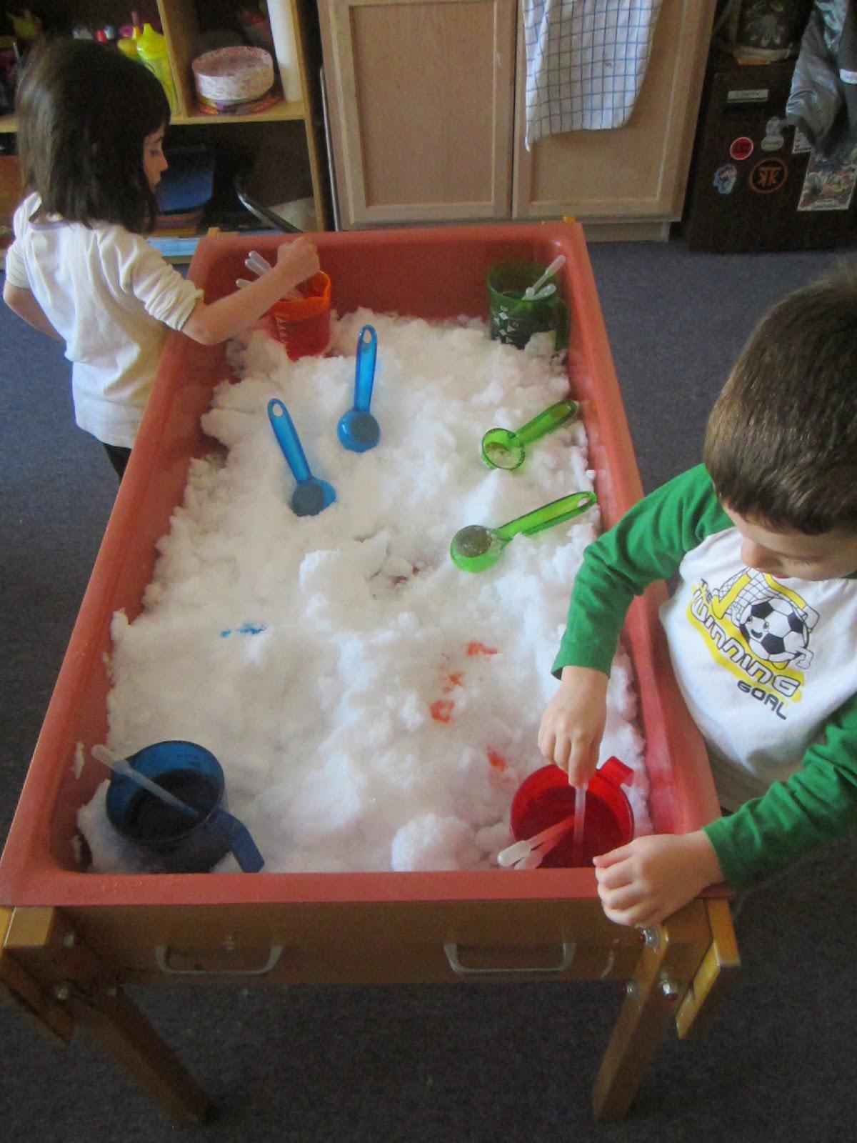 Art And Soul Preschool Winter Wonderland Indoors