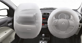 Dual SRS Airbag System MIRAGE