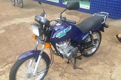 Dupla armada rouba motocicleta e amarra vítima no município de Luzilândia