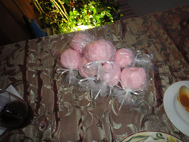 Cotton Candy Lollipops - Wedding Garden - Disney's Grand Californian Hotel