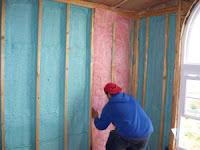 Hybrid insulation system installation
