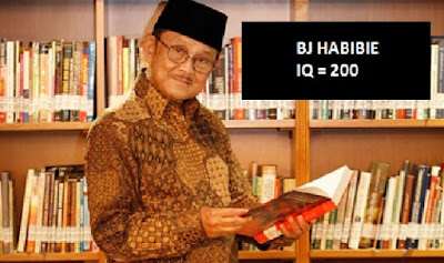 Rahasia BJ Habibie IQ 200, Pemilik IQ Tertinggi di Dunia