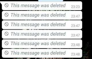 """Cara Membaca Pesan Di Whatsapp Yang Sudah Dihapus """"This Messege Was Deleted"""""""