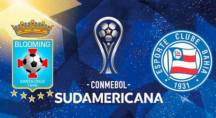 Blooming vs. Bahia - En Vivo - Online - Copa Sudamericana 2018