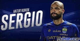 Persib Bandung Resmi Umumkan Perpisahan dengan Sergio Van Dijk