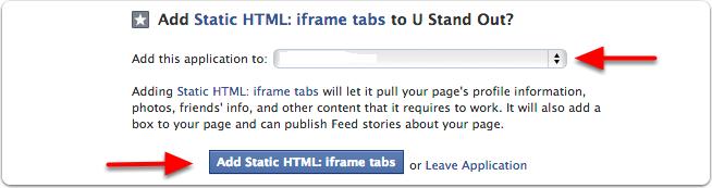 Add Static HTML: iframe tabs on facebook এইচটিএমেল/সিএসএস কোড দিয়ে আপনার ওয়েব সাইট বা মেনু বার আপনার ফেসবুক পেজে যোগ করুন (ফেসবুক পর্ব ১)!!