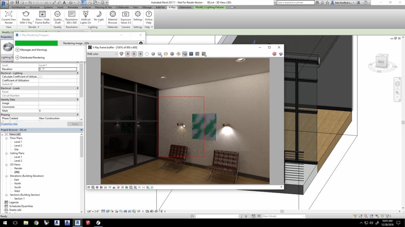 Working With IES Lights In Vray For Revit | CG TUTORIAL