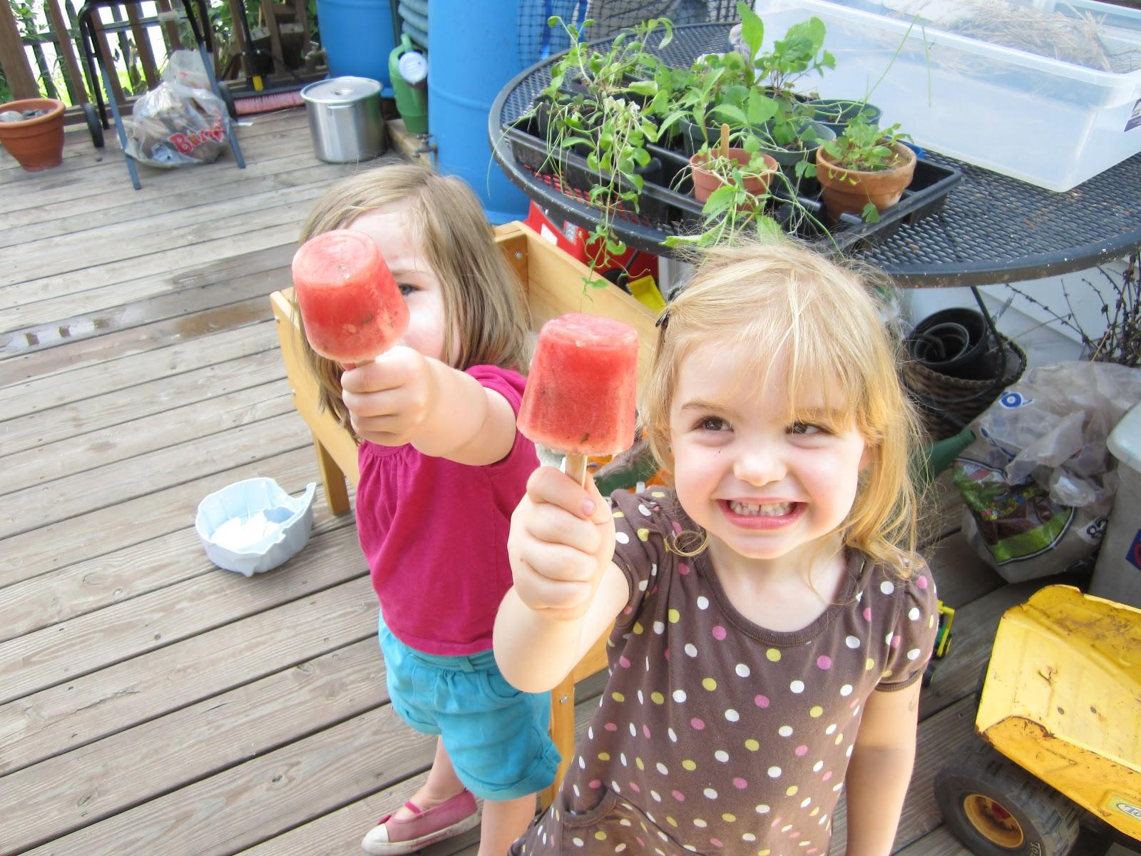 Art And Soul Preschool Watermelon Mint Pops