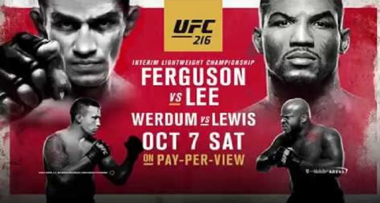 Pelea Ferguson vs Lee ONLINE