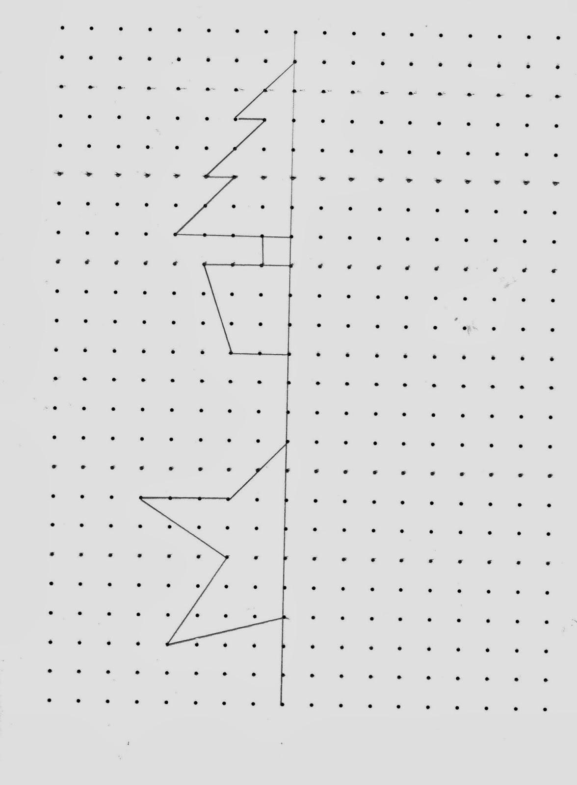 Christmas Symmetry Maths