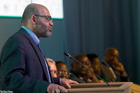 World Bank country manager Yasser El-Gamal speaks during the Africa Carbon Forum in Kigali yesterday. (Credit: Timothy Kisambira) Click to Enlarge.