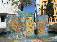 Modern Mosaics Decorate Israel