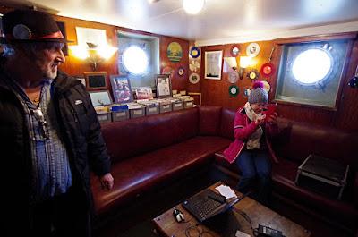 Ross Revenge, Radio Caroline, Record Library, boat trips