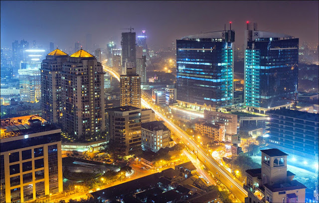 Business hub in Mumbai