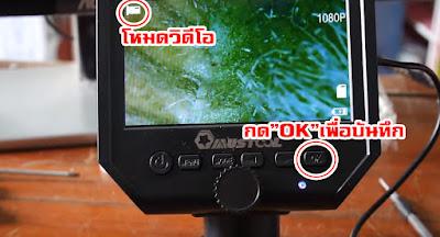 กล้องจุลทรรศน์ ที่ไม่ธรรมดา