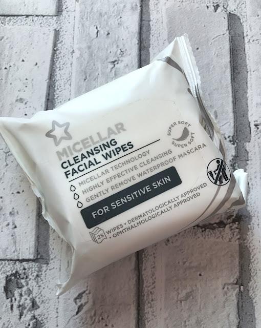 Superdrug Micellar Cleansing Wipes