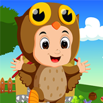 Games4King jolly owl Rescue