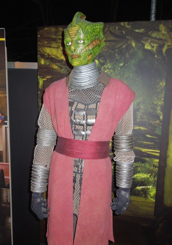 Silurian Restac costume Doctor Who