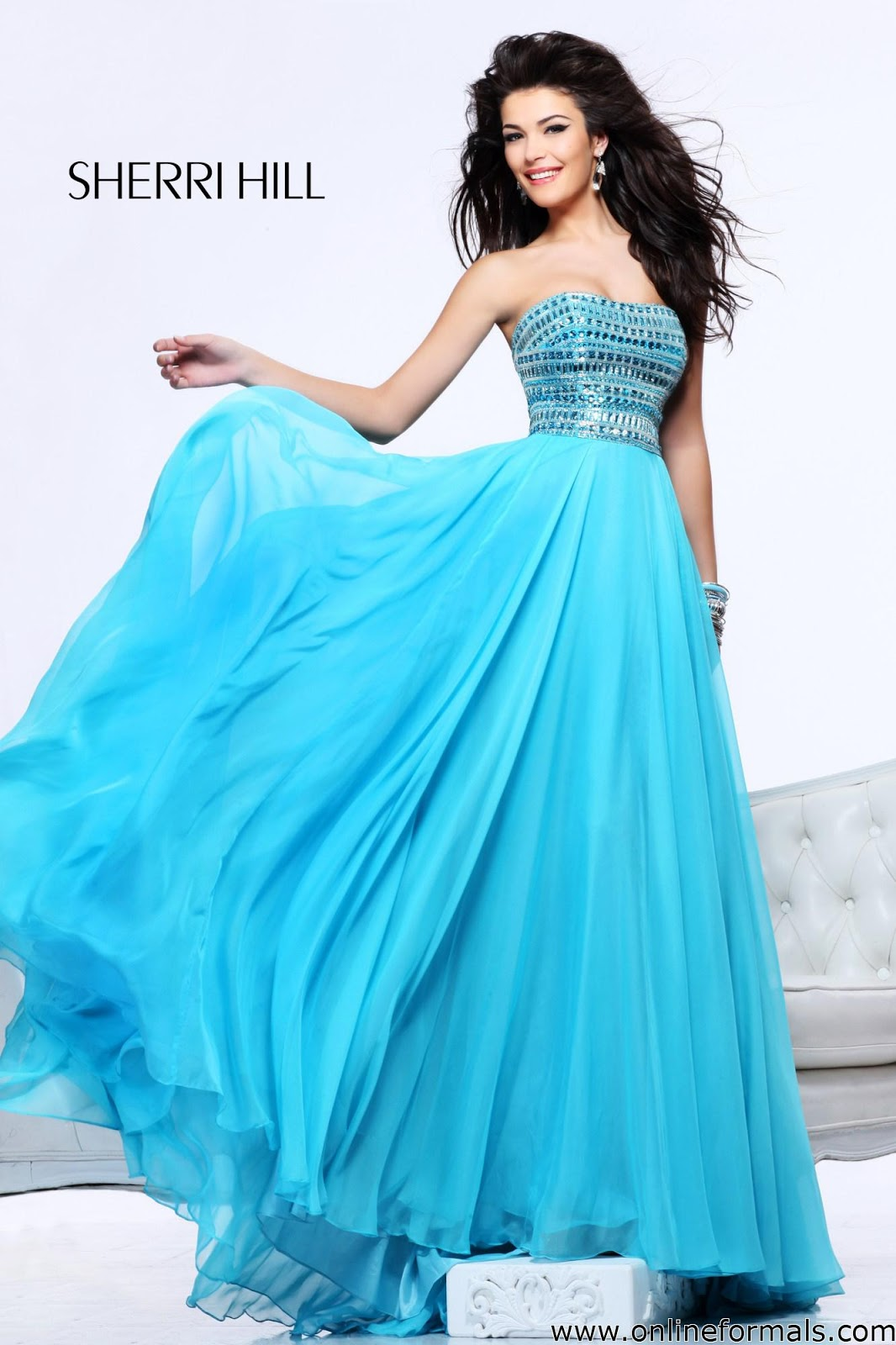 The Fashion Blog Sherri Hill 1539