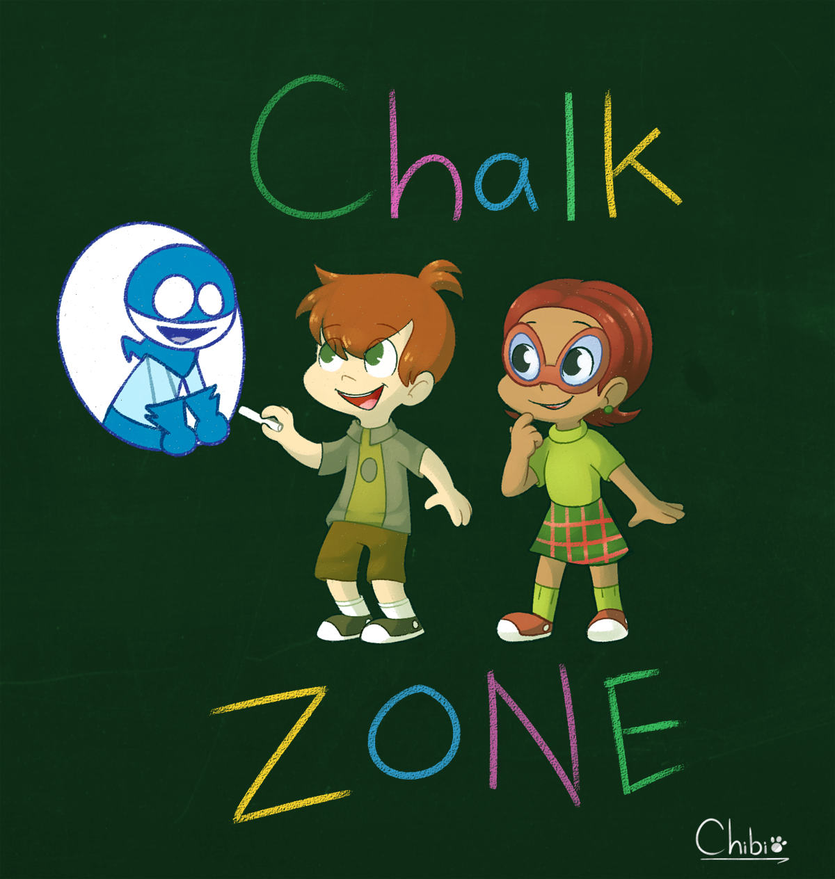 Kumpulan Gambar Chalkzone Gambar Lucu Terbaru Cartoon