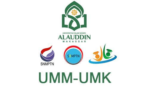Informasi Penerimaan / Pendaftaran Mahasiswa Baru (Maba) 2018 Kampus Universitas Islam Negeri (UIN) Alauddin Makassar. Jalur Mausk SNMPTN, SBMPTN, SPAN-PTKIN, UM-PTKIN, Jalur Mandiri UMM, Jalur Khusus UMK 2018/2019