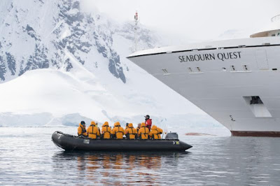 Seabourn Cruises Seabourn Quest Sails to Antarctica and Patagonia.