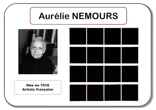Aurélie Nemours - Portrait d'artiste en maternelle