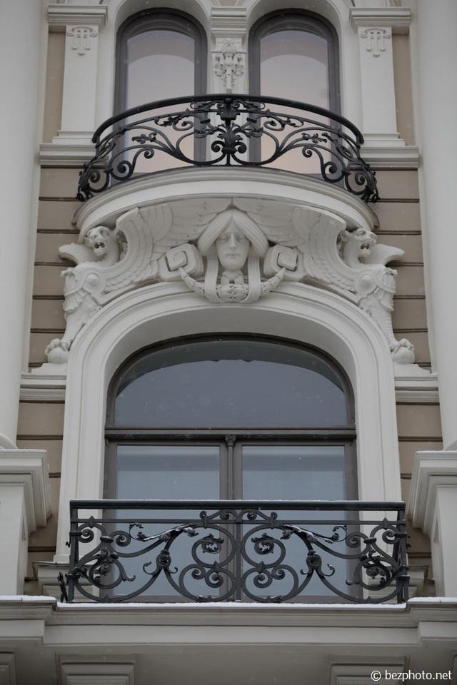 рига модерн в архитектуре