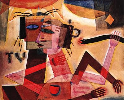 Tú y yo. 1923. 55,6 cm x 45 cm