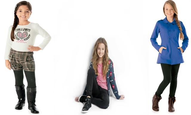 Tendências da moda infantil para cinema ou shopping