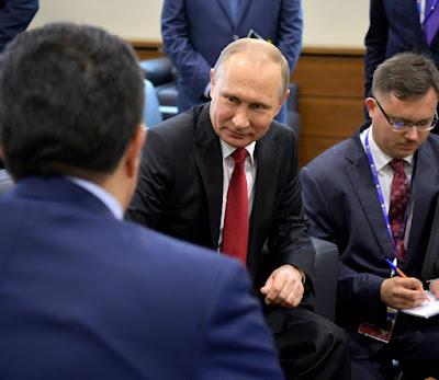 President Putin and Prime Minister of Iraqi Kurdistan