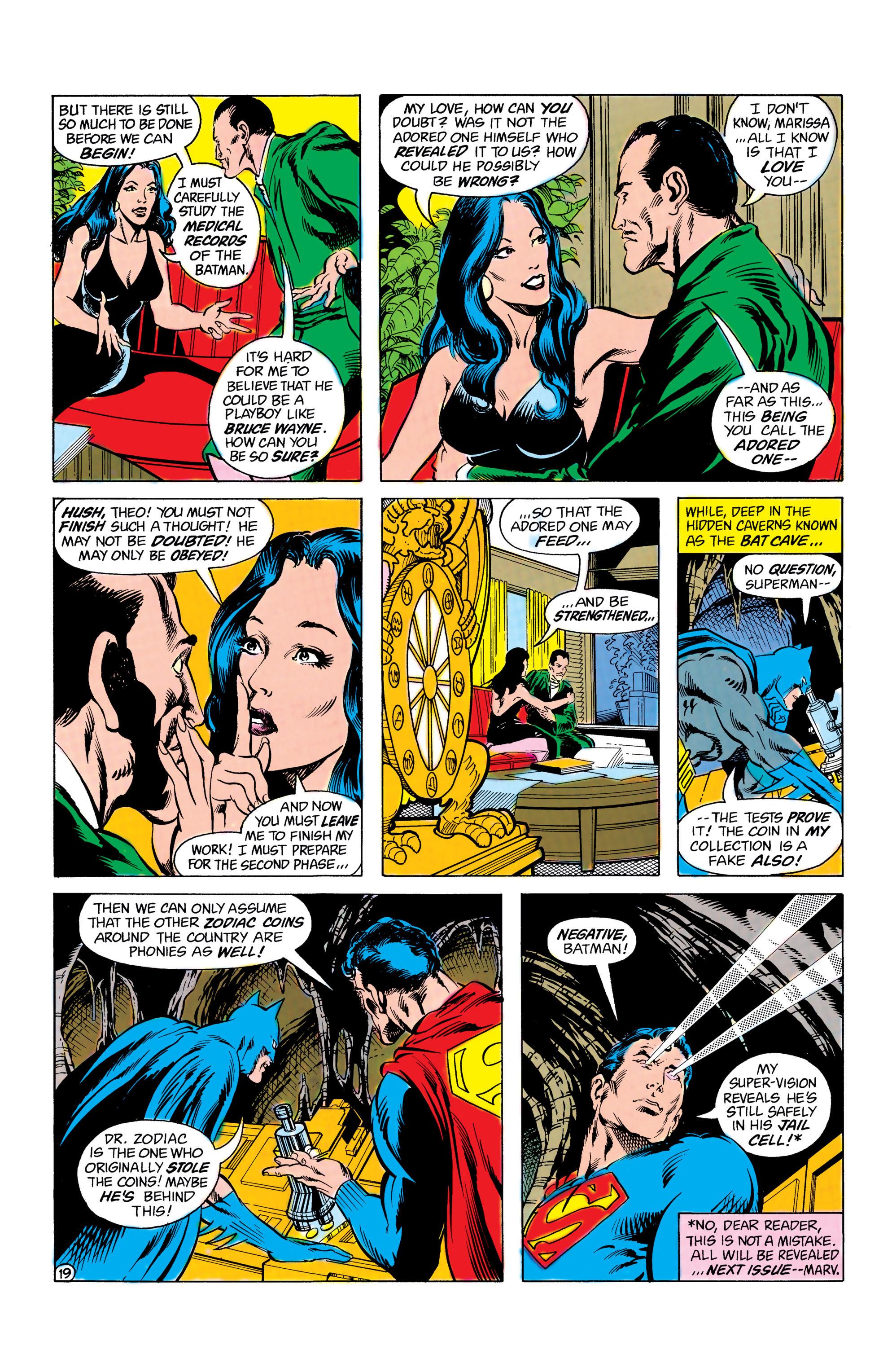 Read online World's Finest Comics comic -  Issue #285 - 20
